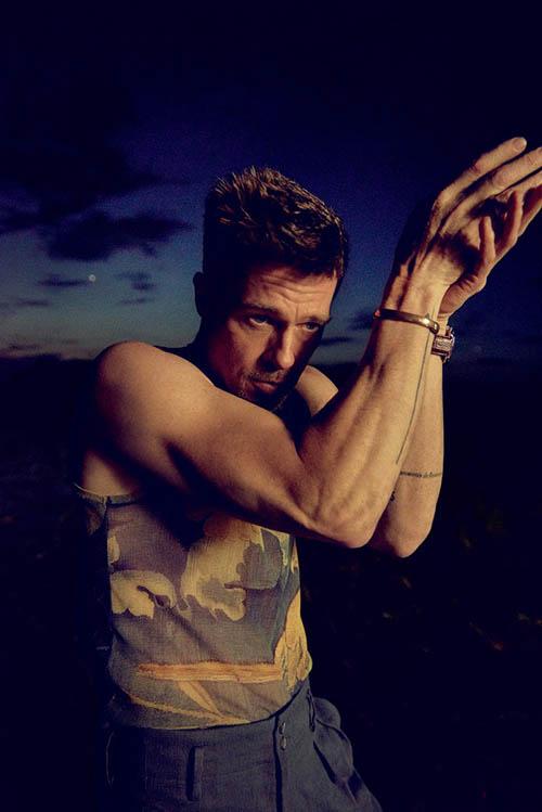Brad Pitt habla de su divorcio de Angelina Jolie – GQ