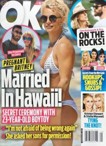 Britney Spears Embarazada, se casó en Hawaii! (OK!)