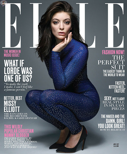 Lorde es casi una de nosotros - Elle magazine
