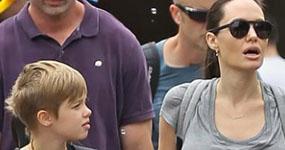 Angelina Jolie celebra cumpleaños 11 de Shiloh en Disneyland