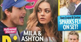 Ashton Kutcher y Mila Kunis: anuncio de divorcio (Star)