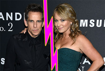 Ben Stiller y Christine Taylor se divorcian! Gossip Links!