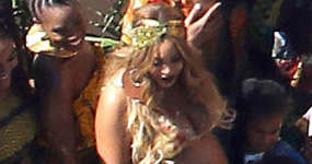 Beyonce celebró su Baby Shower! Holy panza Batman!
