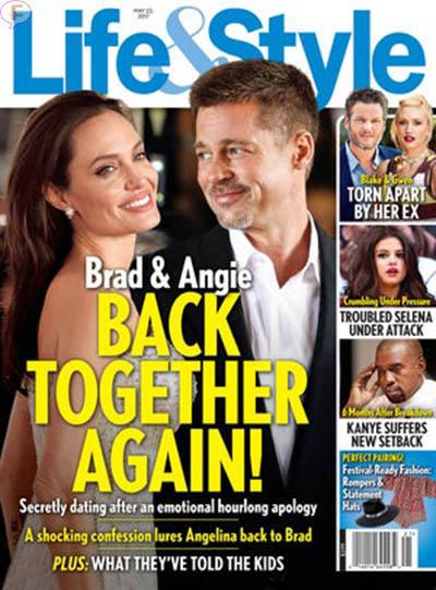 Brad y Angelina juntos otra vez!! (Life&Style)