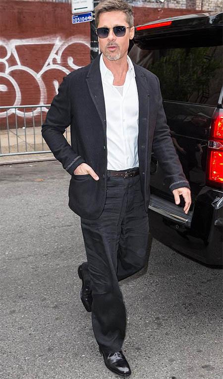 Brad Pitt no tiene secretos ni nada que ocultar