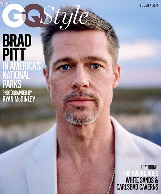 Brad Pitt habla de su divorcio de Angelina Jolie - GQ
