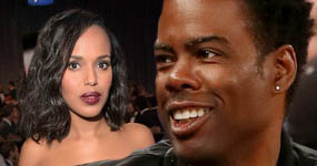 Chris Rock fue infiel a su esposa con Kerry Washington