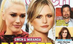 Blake Shelton botó a Gwen Stefani (InTouch)