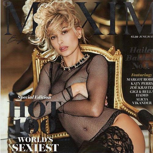 Hailey Baldwin la más HOT - Lista Maxim Hot 100