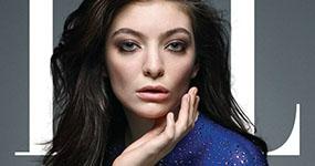 Lorde es casi una de nosotros – Elle magazine