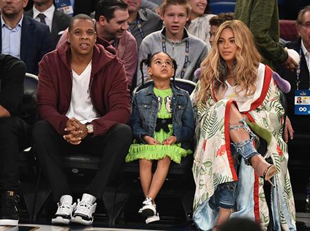 Los Gemelos de Beyonce ya en casa!