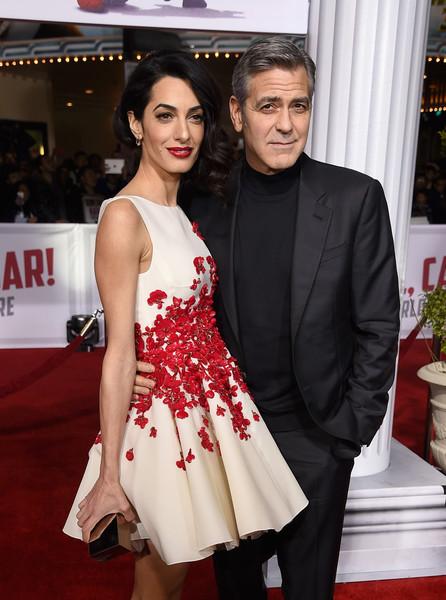George y Amal Clooney contratan guardaespaldas para sus gemelos?