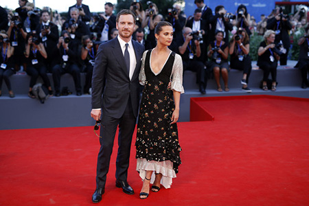 Michael Fassbender y Alicia Vikander: boda de fin de año?