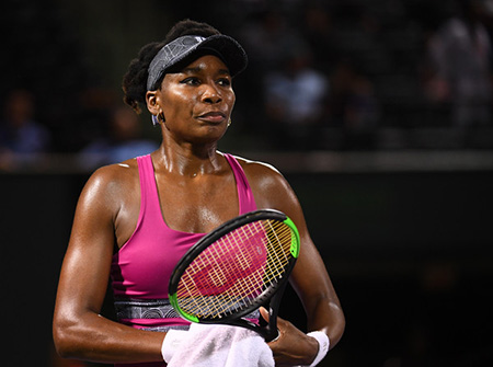 Venus Williams demandada por fatal accidente de auto.