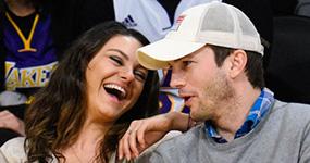 Ashton Kutcher habla de su primer beso con Mila Kunis en TV