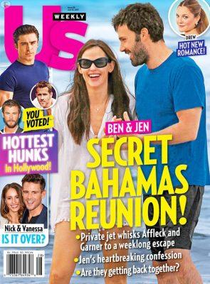 Ben Affleck y Jen Garner escaparon al Caribe! (Us)