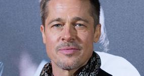 Brad Pitt con sus hijos antes del Dia del Padre?