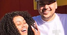 Blac Chyna y Rob Kardashian reunidos again!