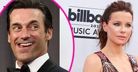 Jon Hamm coqueteando con Kate Beckinsale?
