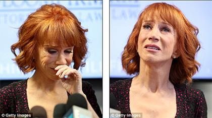 Kathy Griffin acusa a los Trump de acosarla y destruirla