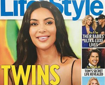 Gemelos para Kim Kardashian via vientre en alquiler? (LifeStyle)
