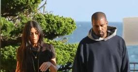 Kim Kardashian y Kanye West en guerra por baby numba 3!!