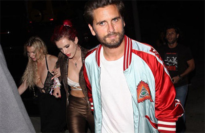 Scott Disick y Bella Thorne juntos again!!