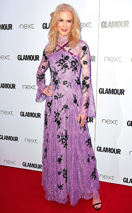 Nicole Kidman: Actriz Del Año Glamour 2017