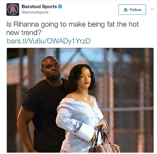 A Rihanna la llaman gorda!! WHAT?