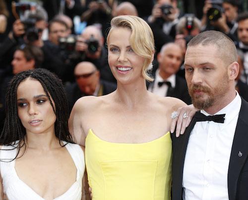 Zoe Kravitz confirma Charlize Theron y Tom Hardy no se llevaban