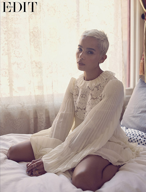 Zoe Kravitz confirma Charlize Theron y Tom Hardy no se llevaban