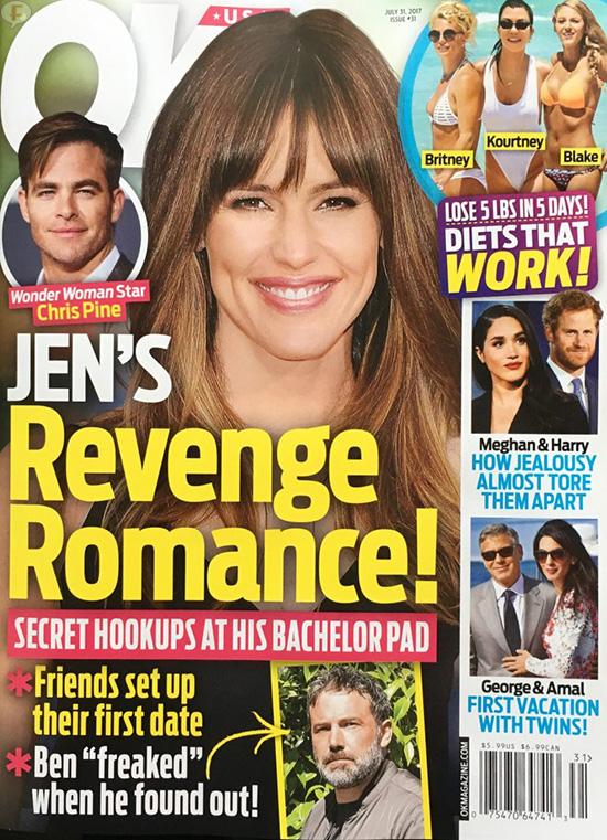 Jennifer Garner y Chris Pine!! Romance venganza! (OK!)