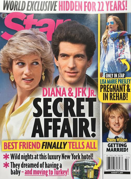 La Princesa Diana y John F. Kennedy Jr. tuvieron un affair? (Star)