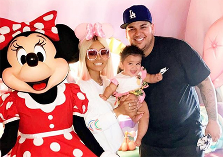Blac Chyna y Rob Kardashian comparten custodia de Dream