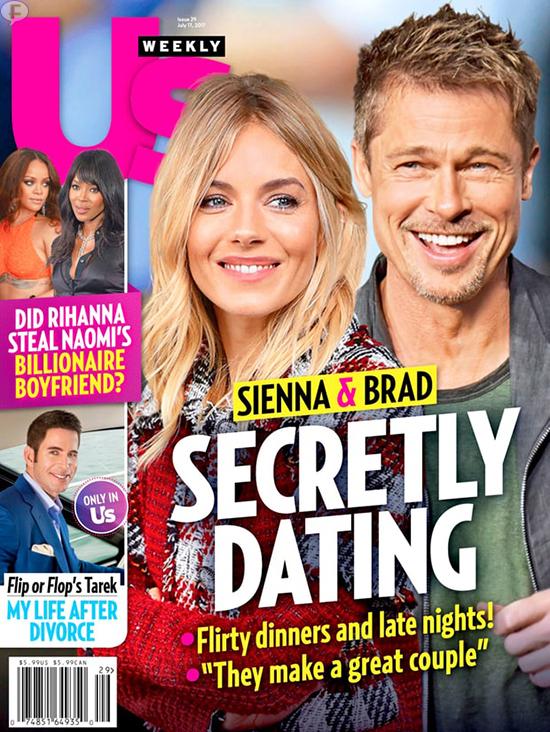 Brad Pitt y Sienna Miller saliendo secretamente? (US)