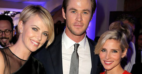Esposa de Chris Hemsworth, Elsa Pataky celosa de Charlize Theron?