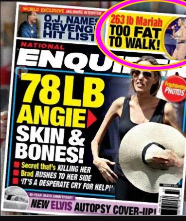 Mariah Carey muy gorda para caminar? WTF? LOL!