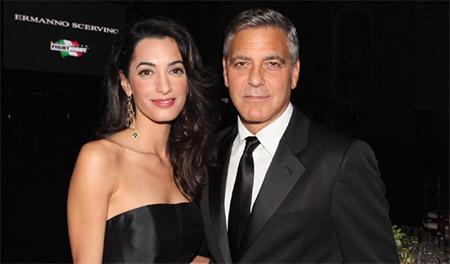 Publican fotos de los gemelos de George y Amal Clooney - El actor demanda!