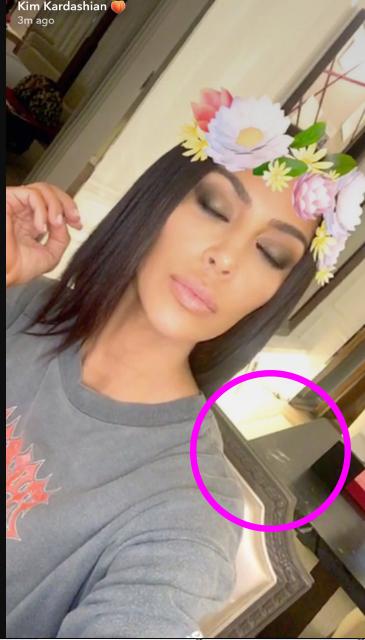 Kim Kardashian pillada con cocaína en su Snapchat!? What?