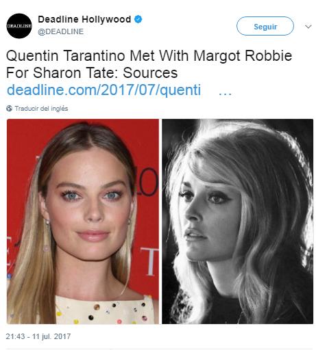Quentin Tarantino hará pelicula sobre La familia Manson