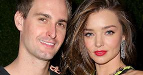 Miranda Kerr embarazada de Evan Spiegel?