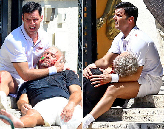 Pareja de Gianni Versace, Antonio D'Amico critica actuación de Ricky Martin