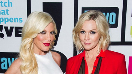 Jennie Garth niega rollo con Tiffani Thiessen – 90210