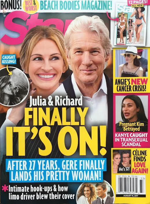 Julia Roberts y Richard Gere: Romance secreto (Star)
