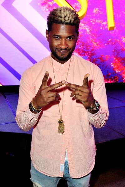 Usher: no dormí con esa mujer, no es mi tipo!