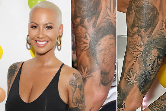 Amber Rose borra a Wiz Khalifa por Slash