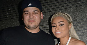 Blac Chyna y Rob Kardashian peleando en la corte por baby Dream?