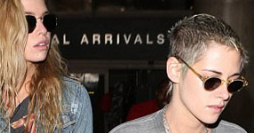 Filtran fotos desnudas de Kristen Stewart y Stella Maxwell!