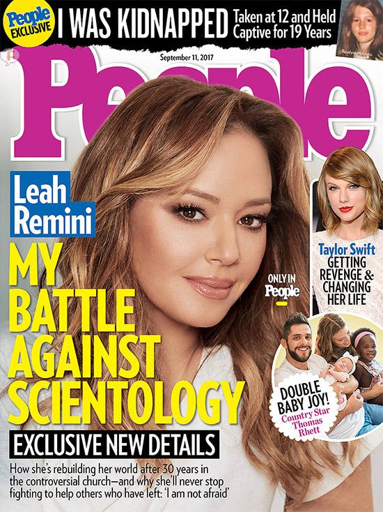 Leah Remini: su batalla contra la Scientology (People)