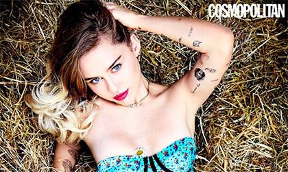 Miley Cyrus sus fallos en la moda y The Voice (Cosmopolitan)